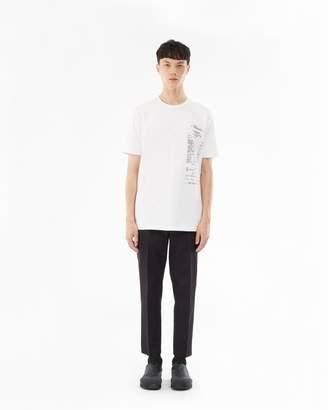 3.1 Phillip Lim Short-Sleeve T-Shirt - Onion Print