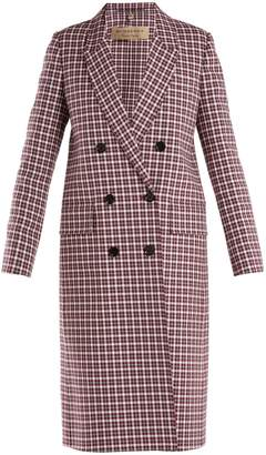 Burberry Double breasted checked coat