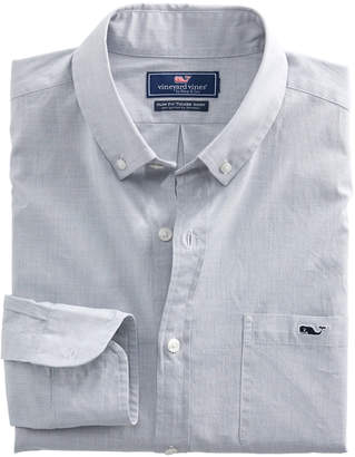 Vineyard Vines End On End Slim Tucker Shirt