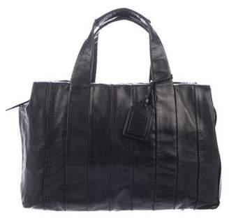 Reed Krakoff Leather Zip Handle Bag