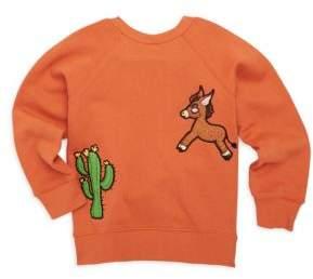 Mini Rodini Baby's, Toddler's, Little Boy's & Boy's Donkey Cactus Cotton Sweater