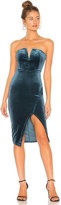 by the way. Beatrice Velvet Tube Mini Dress