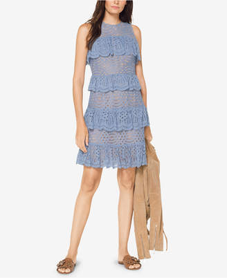Michael Kors MICHAEL Ruffled Lace Dress