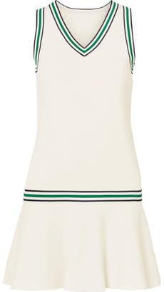 Tory Sport Stretch-knit Tennis Dress - White
