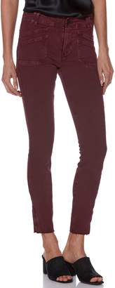 Paige Hoxton Utilitarian High Waist Ankle Skinny Jeans