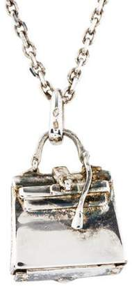 Hermes Birkin Pendant Necklace