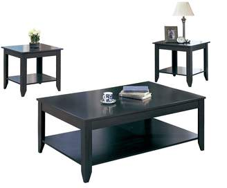 Monarch 3-Piece Tiered Coffee and End Tables Set