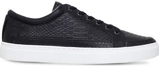 Kurt Geiger Phoenix faux-leather low-top trainers