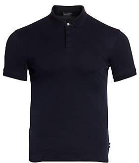 Emporio Armani Men's Cotton Polo Shirt