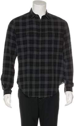Stampd Distressed Plaid Shirt w/ Tags