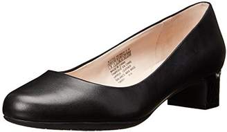 Rockport Women's Seven To 7 35mm Plain Pump Black Smooth Leather