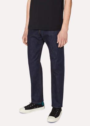 Paul Smith Men's Classic-Fit Indigo-Rinse 11.8oz 'Super Soft Cross-Hatch' Jeans