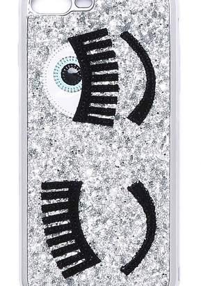 Chiara Ferragni Flirting Glitter Iphone 8 Plus Case