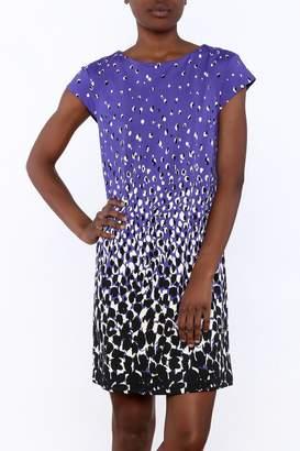 Julie Brown NYC Purple Cheetah Dress