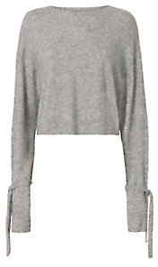 Helmut Lang Sleeve Tie Sweater $360 thestylecure.com