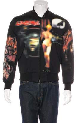 Givenchy Printed Bomber Jacket w/ Tags