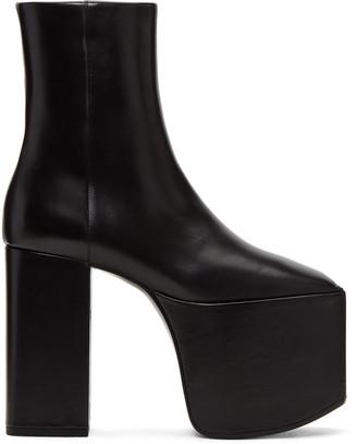 Black Platform Boots