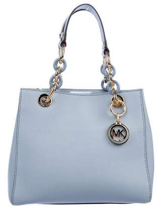 Michael Kors Michael Cynthia Leather Satchel