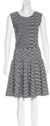 Issa Patterned Knee-Length Dress