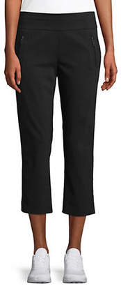 INC International Concepts Petite Career Pull-On Mid-Rise Pants