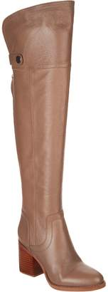 Franco Sarto Wide Calf Leather Over-the-Knee Boots - Ollie