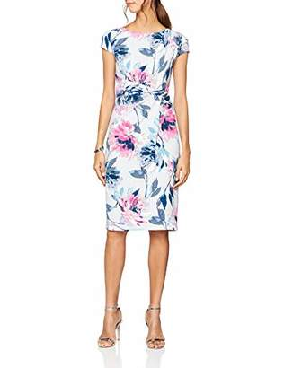 Dorothy Perkins Women's Floral Crepe Dress, (Manufacturer Size: )