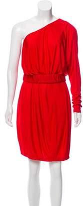Rachel Zoe One-Shoulder Long Sleeve Dress