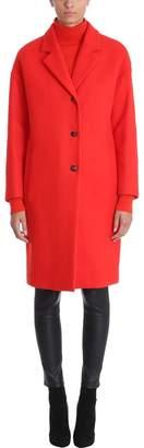 Mauro Grifoni Oversized Single-breasted Coat