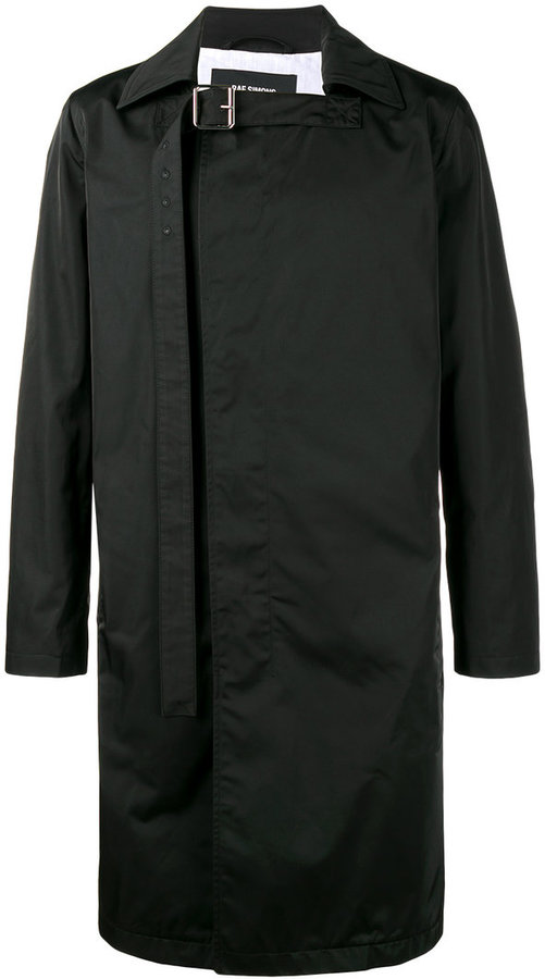 Raf SimonsRaf Simons double breasted trench coat
