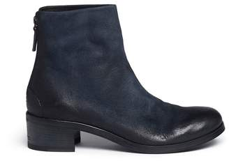 Marsèll 'Listo' distressed buffed leather ankle boots