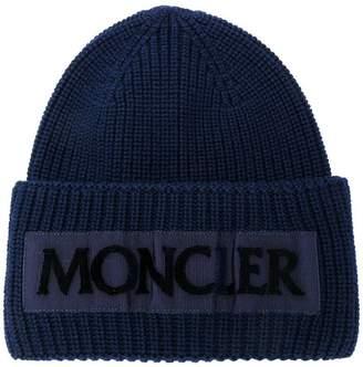 Moncler (モンクレール) - Moncler リブニット ビーニー