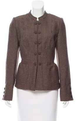 Armani Collezioni Structured Wool Blazer