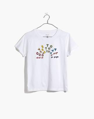 Madewell Pre-order x Human Rights Campaign Love to All Tee
