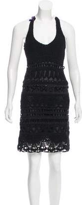 Prada Embellished Knit Dress