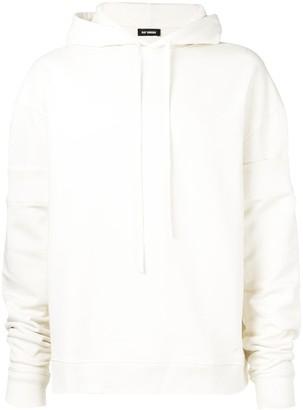 Raf Simons oversized plain hoodie