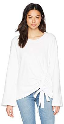 Stateside Women's Front Casing Bell Sleeve Pullover