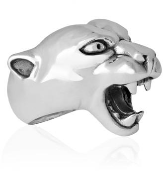 Strange Fruit Panther Ring Silver