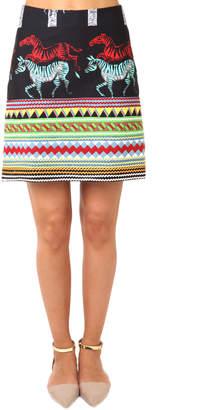 Suno A Line Mini Skirt