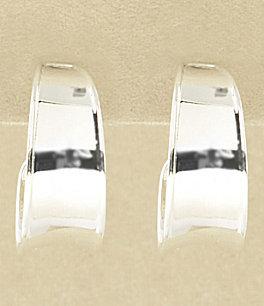 Dillard's Sterling Collection Hoop Earrings