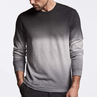 James Perse SEMI WORSTED CASHMERE DIP DYED CREW