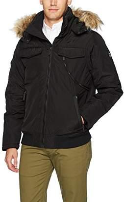 Ben Sherman Men's Hooded Short Parka Jacket