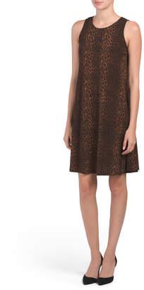 Gwen Leopard Dress