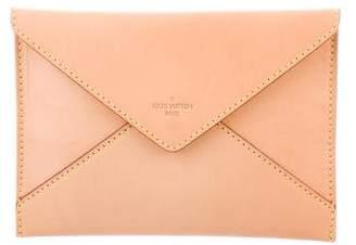 Louis Vuitton Vachetta Envelope Clutch