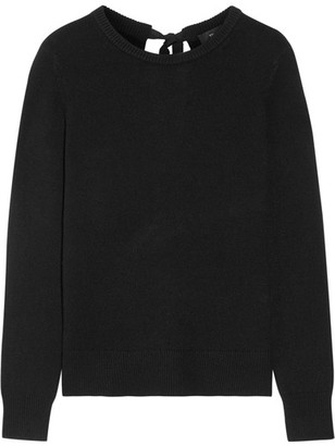 Theory - Salomina Cashmere Sweater - Black $345 thestylecure.com