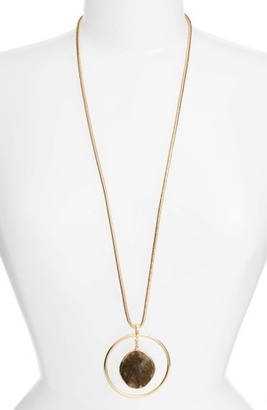 Women's Nordstrom Pendant Necklace $59 thestylecure.com