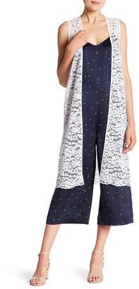 Kensie Long Lace Vest $79 thestylecure.com