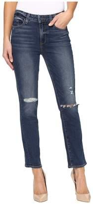 Paige Jacqueline Straight in Nerea Destructed Women's Jeans