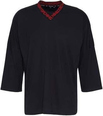 Opening Ceremony Logo jacquard unisex V-neck T-shirt