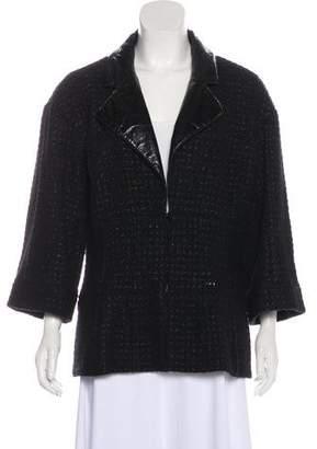 Chanel Wool Fantasy Tweed Jacket