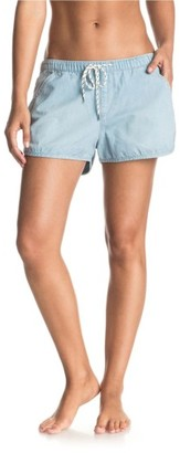 Women's Roxy Summer Feel Chambray Shorts $44.50 thestylecure.com